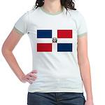 Dominican Republic Jr. Ringer T-Shirt