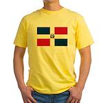 Dominican Republic Yellow T-Shirt