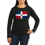Dominican Republic Women's Long Sleeve Dark T-Shir