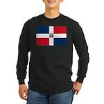 Dominican Republic Long Sleeve Dark T-Shirt