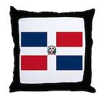 Dominican Republic Throw Pillow