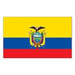 Ecuador Sticker (Rectangle 50 pk)