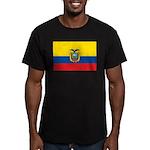 Ecuador Men's Fitted T-Shirt (dark)