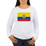 Ecuador Women's Long Sleeve T-Shirt