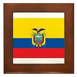 Ecuador Framed Tile