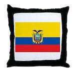Ecuador Throw Pillow