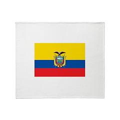 Ecuador Throw Blanket
