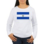 El Salvador Women's Long Sleeve T-Shirt