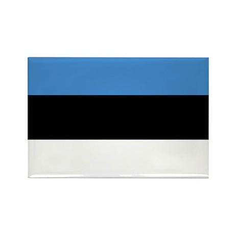 Estonia Rectangle Magnet (10 pack)