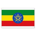 Ethiopia Sticker (Rectangle 50 pk)