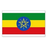 Ethiopia Sticker (Rectangle 10 pk)