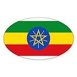 Ethiopia Sticker (Oval 10 pk)
