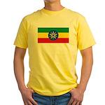 Ethiopia Yellow T-Shirt