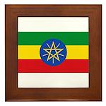 Ethiopia Framed Tile