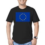 European Union Men's Fitted T-Shirt (dark)