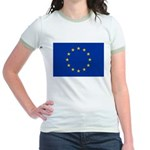 European Union Jr. Ringer T-Shirt