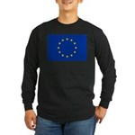 European Union Long Sleeve Dark T-Shirt
