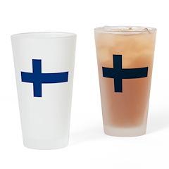 Finland Drinking Glass