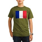 France Organic Men's T-Shirt (dark)