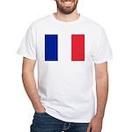 France White T-Shirt