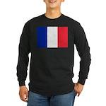 France Long Sleeve Dark T-Shirt