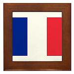 France Framed Tile