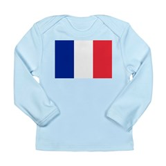 France Long Sleeve Infant T-Shirt