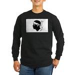 Corsica Long Sleeve Dark T-Shirt