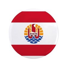 "French Polynesia 3.5"" Button (100 pack)"