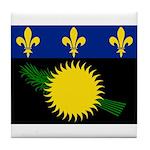 Guadeloupe Tile Coaster