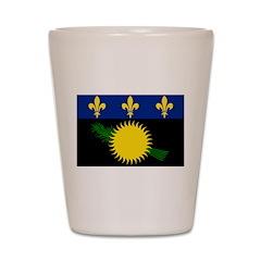 Guadeloupe Shot Glass