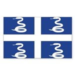 Martinique Sticker (Rectangle 10 pk)