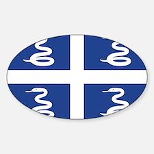 Martinique Sticker (Oval)