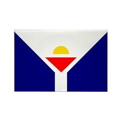 Saint Martin Rectangle Magnet (10 pack)