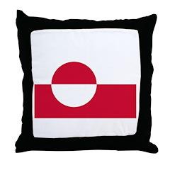 Greenland Throw Pillow