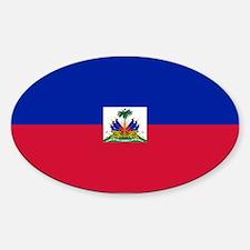 Haiti Sticker (Oval)