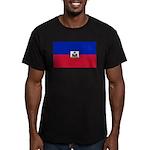 Haiti Men's Fitted T-Shirt (dark)