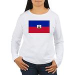 Haiti Women's Long Sleeve T-Shirt