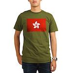 Hong Kong Organic Men's T-Shirt (dark)