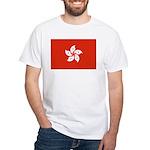 Hong Kong White T-Shirt