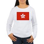 Hong Kong Women's Long Sleeve T-Shirt