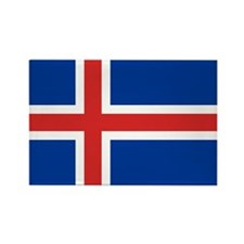 Iceland Rectangle Magnet