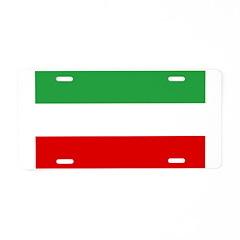 Iran Aluminum License Plate