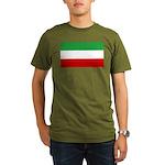 Iran Organic Men's T-Shirt (dark)