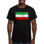 Iran Men's Fitted T-Shirt (dark)