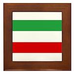 Iran Framed Tile