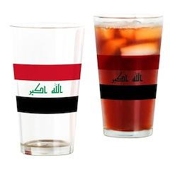 Iraq Drinking Glass