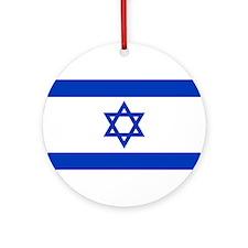 Israel Ornament (Round)