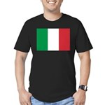 Italy Men's Fitted T-Shirt (dark)