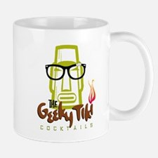"""The Geeky Tiki"" Large Mugs"